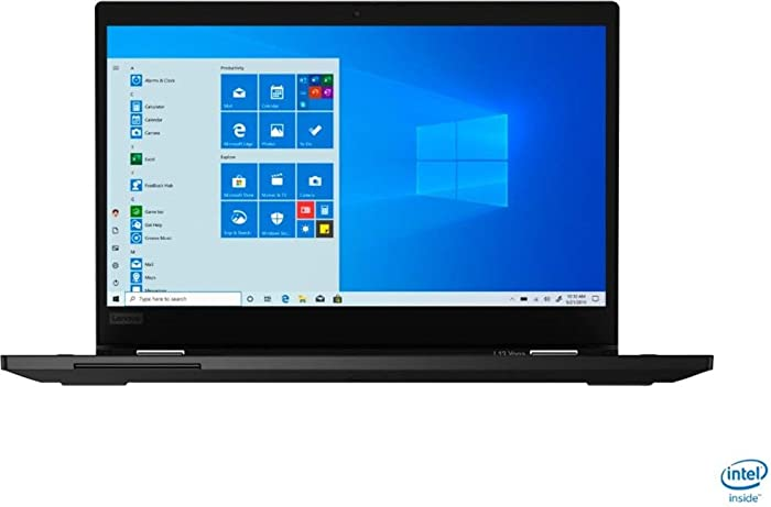"Lenovo - ThinkPad L13 Yoga 2-in-1 13.3"" Touch-Screen Laptop - Intel Core i5-1021U - 8GB Memory - 256GB SSD - Black"