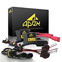 """Apex Xenon Hid Lights Conversion Kits with """" Advanced Digital Improved Slim Ballasts Technology """" All Bulbs Sizes Hids light Kits"""