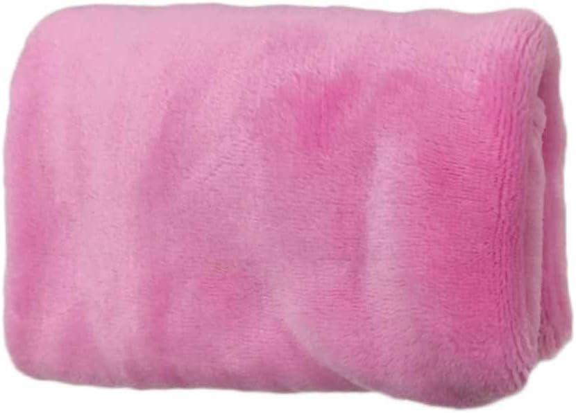 Mini Serviette Couverture Polaire Couverture 65x45cm Petit Divan Doux Moelleux Couverture de Luxe Chaud L/éger Microfibre Lit Blankets pour Maison Bureau Canap/é 50x70cm free size Rouge - Rouge
