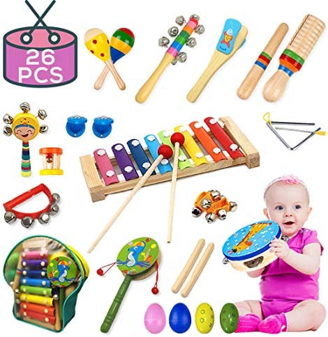 Instruments Toddlers 17 Percussion Adorable Buself product image