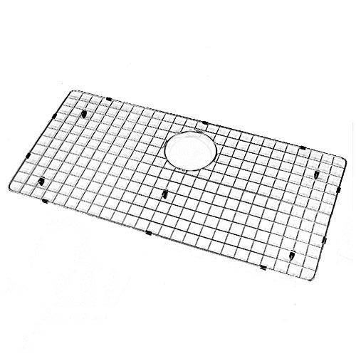 Houzer BG-3700 WireCraft Stainless Steel Bottom Grid, 30-1/4-Inch x 16-1/2-Inch - Stainless Steel Wire Bottom Grid