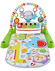 Fisher-Price Deluxe Kick Play Piano Gym - English Edition
