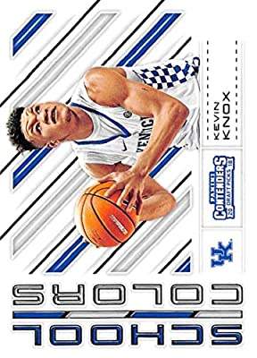 Basketball NBA 2018-19 Panini Contenders Draft Picks School Colors #11 Kevin Knox #11 NM+