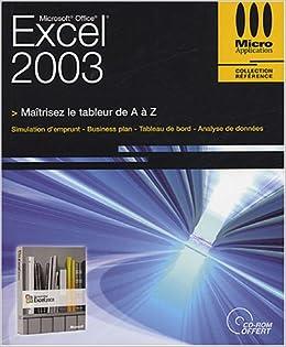 Excel 2003 (1Cédérom)