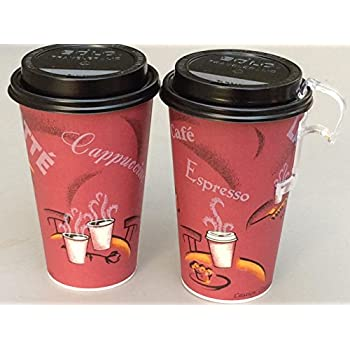 Amazon Com 12 Oz Solo Bistro Design Paper Coffee Cup