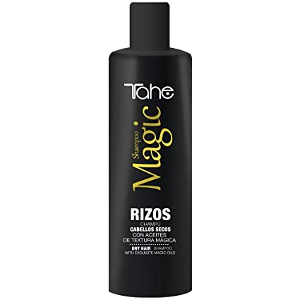 Tahe Magic Rizos Champú para Rizos/Champú para Cabellos Secos, Efecto Hidratante Anti-
