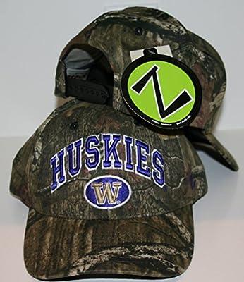 Zephyr Washington Huskies Camo Sport Adjustable Hat from Zephyr
