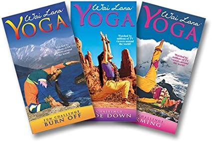 Amazon.com: Wai Lana Yoga: Fun Challenge Series [VHS]: Wai ...