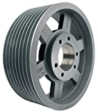 """19.00"""" OD Ten Groove Pulley/Sheave for 3V Style"""