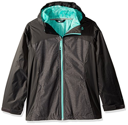 The North Face Girls Osolita Triclimate Jacket - Graphite Grey - XL by The North Face
