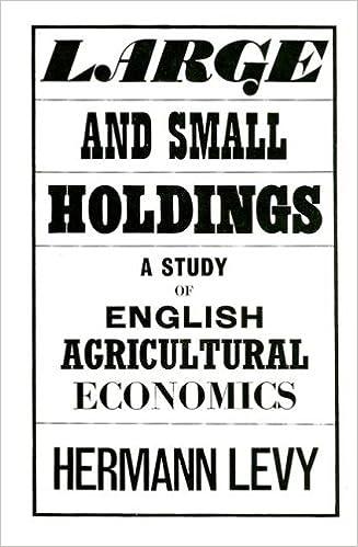 Economics pdf agricultural books