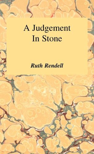 book cover of A Judgement in Stone