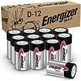 Energizer Max D Batteries, Premium Alkaline D