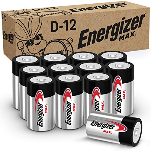 Energizer Max D Batteries