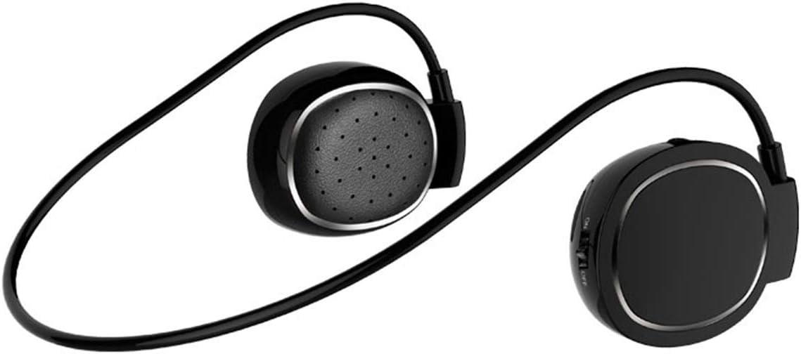 Granvela Waterproof Touch-Control Bluetooth Wireless On-Ear Sports Headphones-Black