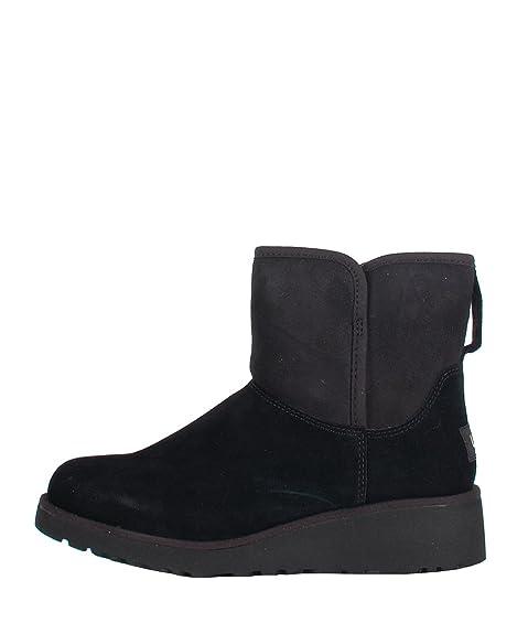 UGG W N391 Black Boots - Botines de Mujer Negros de Ante Negro Size: 36: Amazon.es: Zapatos y complementos