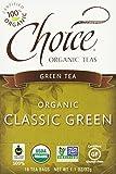 Choice Organic Classic Green Tea, 16 Count Box