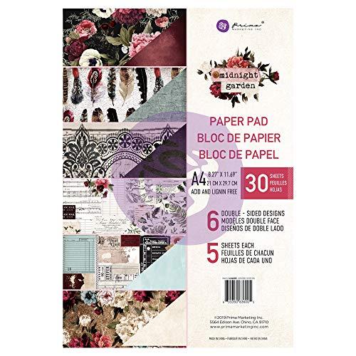 Midnight Garden A4 Paper Pad