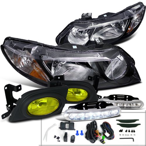 07 honda civic si headlight - 5