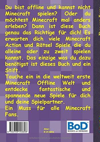 Funcraft Buchspiele Fur Minecraft Fans German Edition Theo Von - Alle minecraft spiele der welt