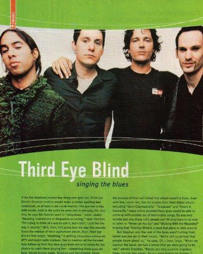 Third Eye Blind Clipping Magazine Photo orig 1pg 8x10 M0296