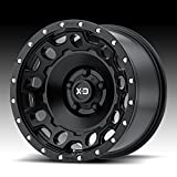 XD Series by KMC Wheels XD129 Holeshot Satin Black Wheel (18x9''/8x165.1mm, +18mm offset)