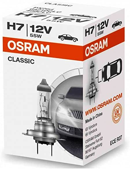 1x Osram 64210 Tech 12 V 55 W H7 Px26d Halogen Headlamp 64210clc 1 Light Bulbs Car Light Bulbs Lamps 1 Auto