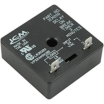 Icm Controls Icm200 Delay On Break Timer 3 Minutes Fixed Timing Amazon Com Industrial Scientific