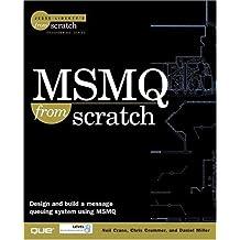 MSMQ From Scratch