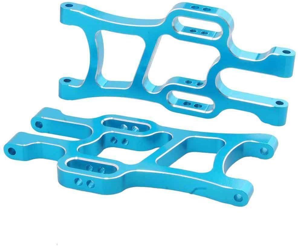 2pcs Blue Front Lower Suspension Arms For 1//10 RC Car Toys HSP  94111