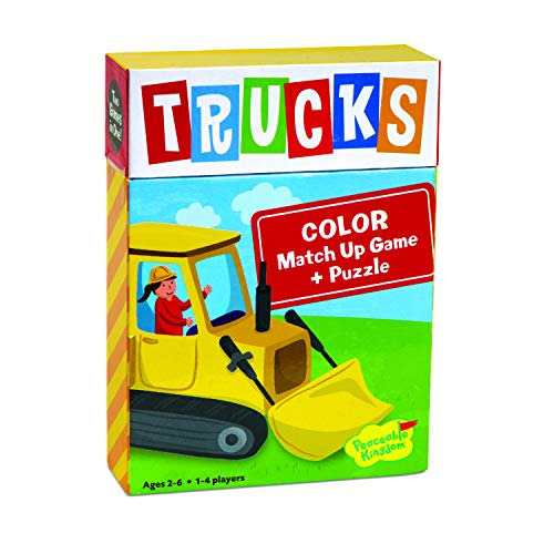 Peaceable Kingdom Trucks Color...