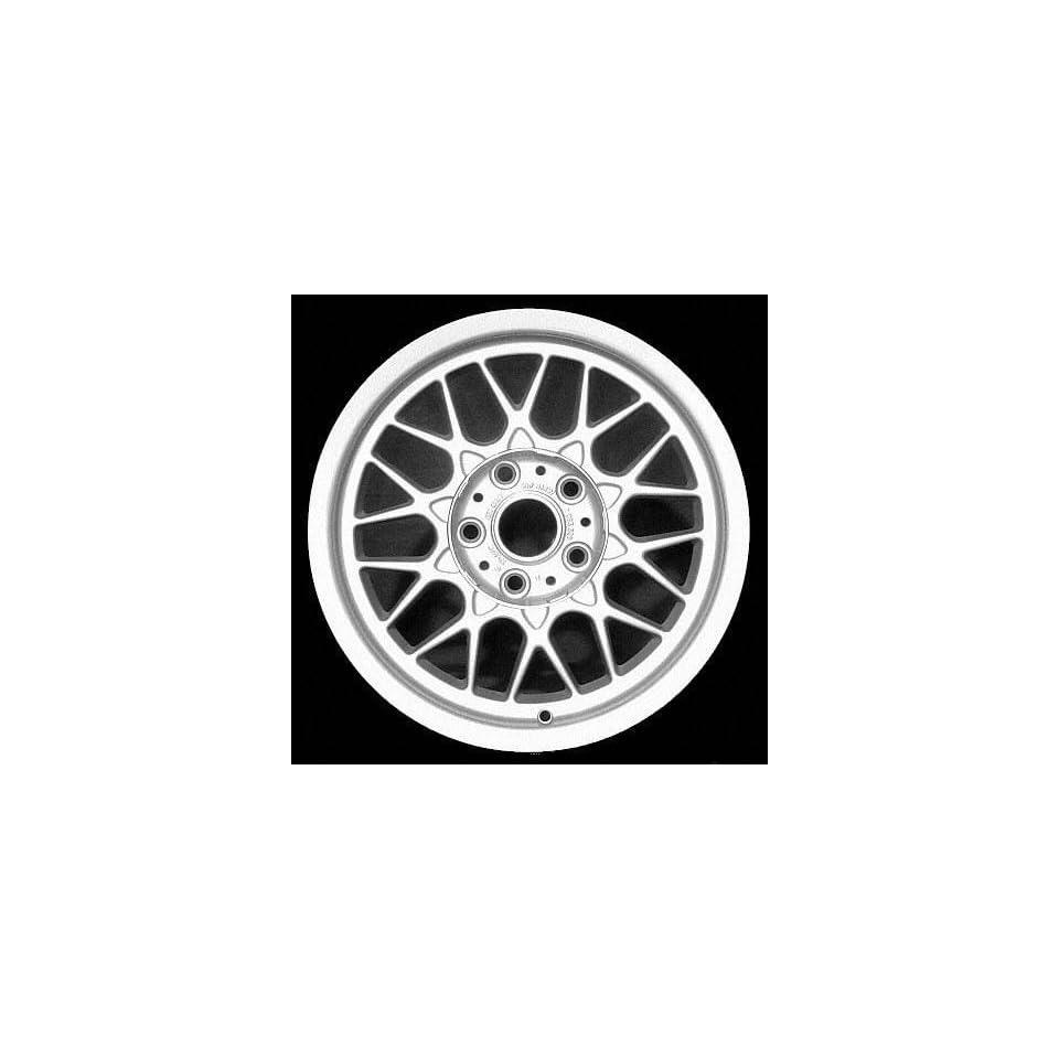 99 00 BMW 528IT 528 it ALLOY WHEEL RIM 16 INCH, Diameter 16, Width 7 (DIAMOND SPOKE, WIDE), 20mm offset Style #29, SILVER, 1 Piece Only, Remanufactured (1999 99 2000 00) ALY59250U10
