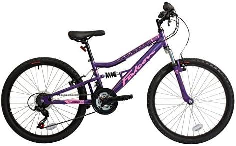 Falcon Sirena Fs - Bicicleta Niña Es Púrpura/Rosado, 60,96 Cm ...