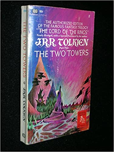 Two Towers First Authorized Paperback Edition Tolkien J R R Amazon Com Books