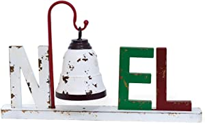 Boston International Christmas Tabletop Sign, 22 x 13.5-Inches, Noel Bell