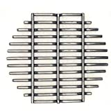 Aura Outdoor Products Stainless Steel Charcoal Fire Grate for Large Big Green Egg, Kamado Joe, 18in Kamado Regulator