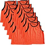 Energi8_blu 12 Jersey Practice Uniform Pinnie Pennie Lacrosse Field Hockey Adult Orange