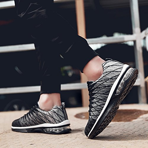HONGANG Sports Unisex Shoes, Fly Weave Running Casual Shoes with Mesh Breathable Lightweight for Lovers