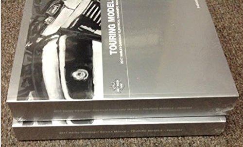 2017 Harley Davidson Touring Repair Service Shop Manual Set Electrical + Parts