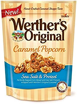 Werther's Sea Salt & Pretzel Original Caramel Popcorn (6oz)