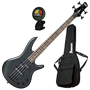ibanez gsrm20bwk gio 4 string mikro electric bass weathered black with gig bag and. Black Bedroom Furniture Sets. Home Design Ideas