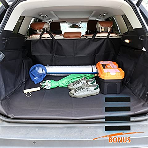Cargo Cover/Mat for Dog/Muddy Stuff, Three-Dimensional Protection Scratch-Resistant Pet Cargo Liner , Waterproof Quilted Boot Liners for Car,SUV,VAN