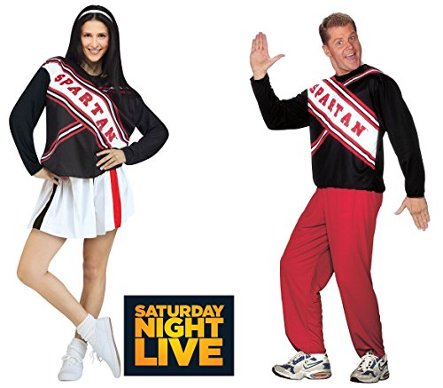 Spartan Cheerleader Costume (SNL Saturday Night Live) - Male and Female