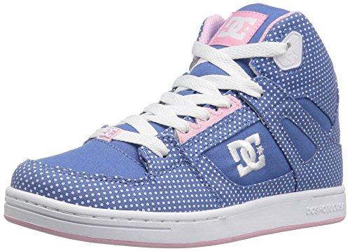DC Shoes TX Se G - Zapatillas Para Niñas Blue/White Print