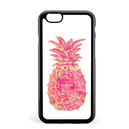 新品大人気 シャネル パイナップル/CHANEL pineappleiPhoneケース (iPhone 7+/8+, Black/黒)
