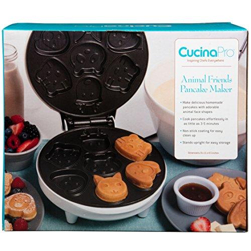 Animal Maker- Makes 7 Shaped Pancakes Non-stick Waffler