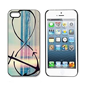amtonseeshop Unique Various New Stylish Personalized Protective Snap On Hard Plastic Case For iphone 6 4.7 5G 6 4.7 (Infinity Anchor)