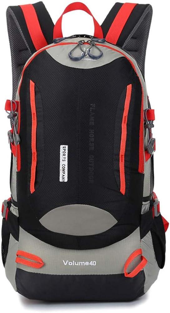 HUYANNABAO 40L Outdoor Climbing Rucksack Mountaineering Bags Camping Backpack Sports Bag Hiking Backpacks Nylon Waterproof
