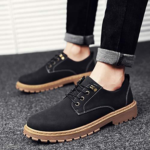 De Invierno Las A Black Zyuq F Ayudar Otoño Los Para Hombre Martin La Altas Hombre Moda Botas Cortas Zapatos 5qqrwnptZ