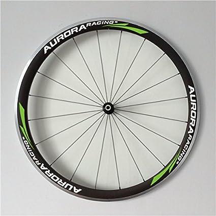 Aurora Racing para bicicleta de carretera de carbono Ruedas 38 mm de profundidad 25 mm de